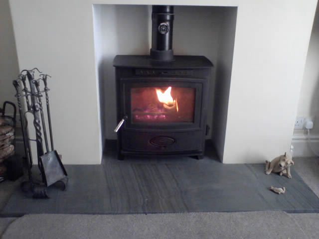 Fireplaces And Hearths Saddleback Slate
