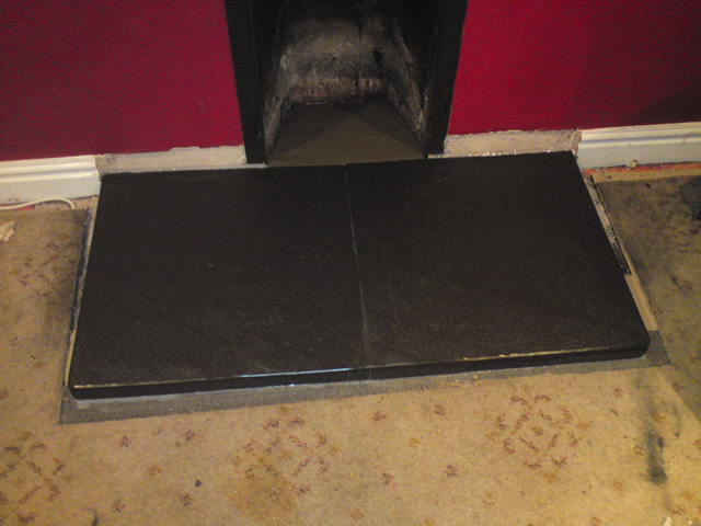 Slate Fireplace Hearth Amazing Individual Fireplaces With