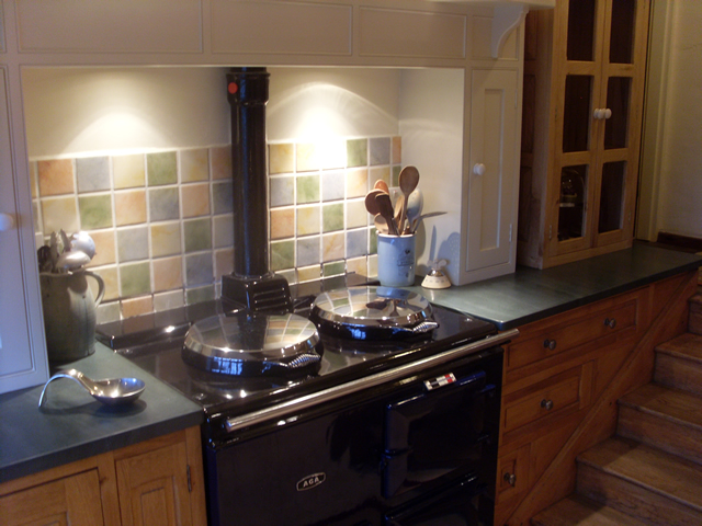 Slate Kitchen Top : Transform a nice kitchen in to a stunning kitchen!